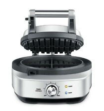 Breville 900w 4 Slice Waffle Maker BWM520BSS With Browning Control