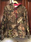 NWOT Mossy Oak Break-up Country Womens Camouflage Hoodie Sweatshirt w/ Pink Sz L