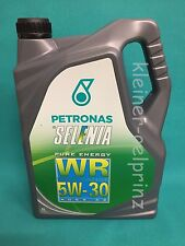 5L Petronas Selenia WR Pure Energy 5W-30 Motoröl Fiat 9.55535-S1 Motorenöl