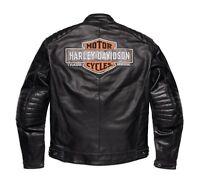 Harley-Davidson Legend Leder Jacke Gr. 3XL Herren Motorrad Lederjacke