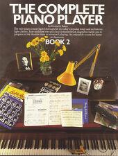 El reproductor de Piano Completa 2 Libro De Partituras sólo aprende a jugar método