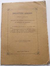 SARDEGNA - BOLLETTINO AGRARIO - GIORNALE AGRICOLTURA ANNO I N. 1 NOV. 1868  2/17
