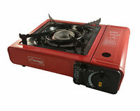 Portable Gas Cooker Stove + 2/4/8 Butane Bottels Camping Gas Reffils Out Door