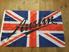 Austin Seven Princess Allegro BMC Mini garage workshop flag banner