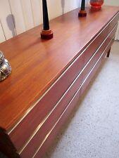 Retro Vintage Mid Century Sideboard Fler FRED LOWEN drawers cabinet Dresser