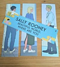 More details for sally rooney. 4 x bookmarks for