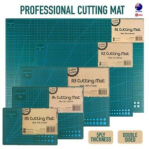Cutting Mat Self Healing Craft Double Sided Grid 5ply Thick Board A1 A2 A3 A4 A5