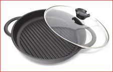 Jean-Patrique The Whatever Pan - Cast Aluminium Griddle Pan with Glass Lid
