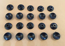 20 x Button Lashing Cleats Bungee Trailer Cover Tie Down Plastic Rope Hooks Boat