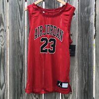Nike Air Jordan Men's XS  Mesh Jersey Tank Top CZ2499-687 New