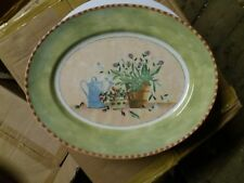"Royal Stafford ,Gardeners Journal Oval Plate  32.5cm x 26cm ( 13"" x 10"")."