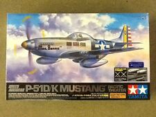 TAMIYA 1/32 WW II NORTH AMERICAN P-51D/K MUSTANG PACIFIC THEATER ITEM #60323 F/S