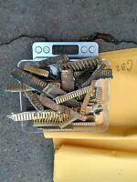 Vintage GOLD SCRAP  ELECTRONOIC BOARDS CONECTORS FINGERS  120 GRAMS GB2