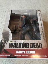 "Mcfarlane Walking Dead Daryl Dixon Bloody Variant 10""  Figure Survivor!"