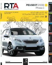 Revue technique RTA 835 Peugeot 2008 I PHASE 1 (2013 À 2017)