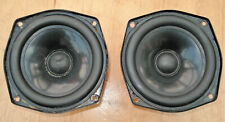 KEF B110 SP1003 MID/BASS DRIVERS GOOD USED COND MATCHED PAIR FREE POST TO GB!!