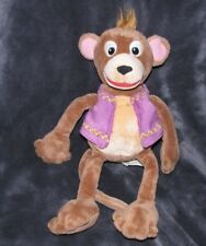 """baby einstein plush monkey squeak vest 14"""" rattle baby toy lovey"""