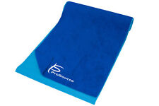 "ProSource Arida Yoga Mat Pilates Towel Absorbent Microfiber 68"" x 24"" Blue"