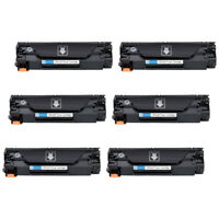 Compatible 128 CE278A Toner Cartridge 6 Pack Replacement for MF4570dw MF4580dn