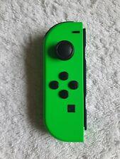 Genuine Nintendo Switch Joy Con Left (Minus) Official Neon Green EXCELLENT. .👍.