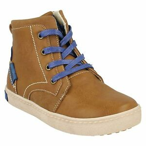 Boys JCDees Lace Up  Ankle Boots High Top Casual Round Toe Walking Boots N2038