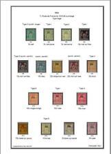 Album de timbres de Chine (bureaux français) à imprimer