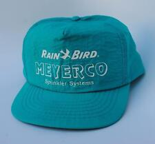 RAIN BIRD MEYERCO Sprinkler Systems Adjustable Snapback Baseball Cap Hat