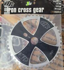 RARE NOS NWT OG DK IRON CROSS 44T BMX BIKE SPROCKET GENERAL LEE MIDSCHOOL