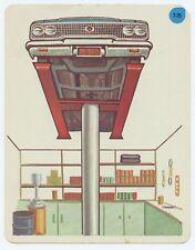 Vtg 1966 Peabody Language Development Kit Card #t-25 Car on Lift