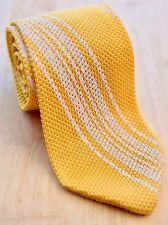 NEW Robert Talbott Estate Knit tie  -NWT- 100% silk