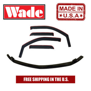 Wind Deflector & Bug Shield Combo For Chevy Tahoe 2000 - 2006