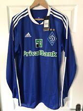More details for dynamo kiev football shirt 2011/12 xl adidas classic soccer jersey l/s bnwt