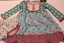 NWT 18-24 mos Matilda Jane Stained Glass Dress w Diaper Cover 22937D