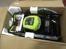 "New ListingRyobi 21"" 40 Volt Cordless Self-Propelled Mower Ry40Lm10-Y"
