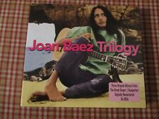 3 CD Joan Baez - Trilogy  (original albums) 1959 / 60 / 61 - 37 titres -