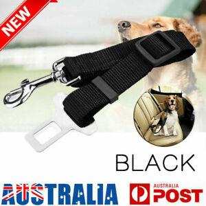 Pet Dog Cat Safety Seatbelt Car Vehicle Adjustable Seat Belt Harness Lead NN*NI