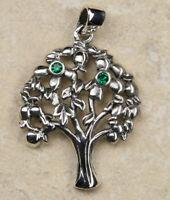 Lebensbaum Anhänger 925er Silber Symbol Schmuck - NEU