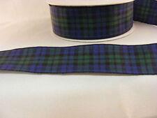 Tartan Ribbon Black Watch 25mm x 5 mts