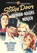 Stage Door DVD, Katharine Hepburn, Warner Brothers, Out of Print. Brand New.