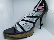 Baby Phat Faran Black Pumps Size 11 New In Box