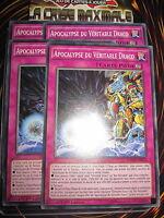 YU-GI-OH! COM APOCALYPSE DU VERITABLE DRACO MACR-FR070 PLAYSET (4 CARTES) NEUF