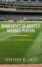 SIGNED Minnesota's 50 Greatest Baseball Players /50 copies Twins St. Paul Saints