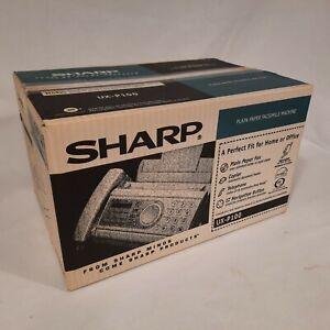 Sharp UX-P100 Plain Paper Fax Machine Copier Facsimile ~ SEALED BOX