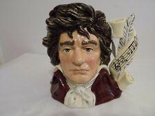 Royal Doulton 'Beethoven' D7021 Large Toby Character Jug