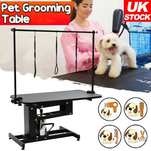 Extra Large Pet Dog Grooming Table Height Adjustable Arm Noose Heavy Duty Z Lift