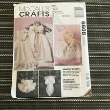McCall's 6608 Angel Doll Christmas Decor Sewing Pattern