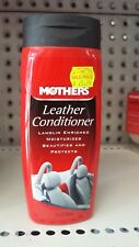 Mothers Leather Conditioner 355ml Interior Car Care Suede Lanolin 06312