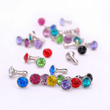 1 X COLORFUL DIAMOND BLING ANTI DUST EARPHONE PLUG CHARM FOR IPHONE'S ECT!!
