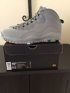 Brand New DS Nike Air Jordan 10 Retro X Cool Grey sz 10.5