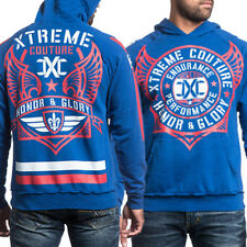 "AFFLICTION ""AMPHIUS"" Xtreme Couture Hoodie LARGE UFC Long Sleeve Pull Over Hoody"